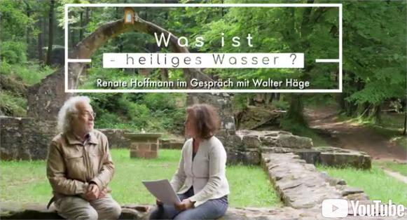 Was ist 'Heiliges Wasser?' Am heiligen Quellplatz in Climbach/Elsass